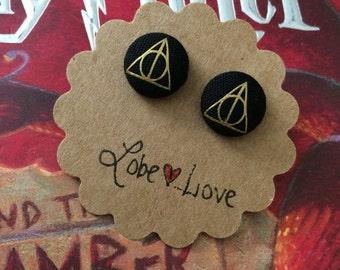 Harry Potter Fabric Earrings