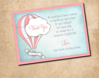Thank you Note /5.5 x 4 card/with envelopes/set of 125