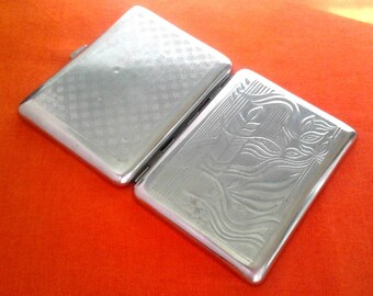 Vintage Soviet cigarette case / Holder from USSR / Candle / Made in USSR, 1960s