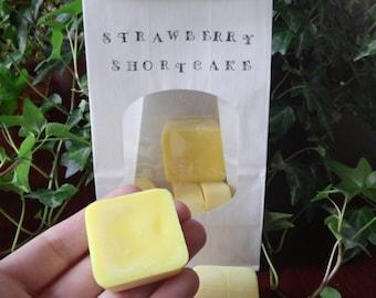 Strawberry Shortcake, 4oz!! soy wax melts, tarts