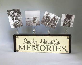 Smoky Mountain Memories Photo Disply -Family Vacation Photos
