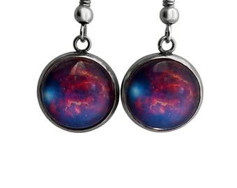 NASA Photograph Galaxy Like You Earrings