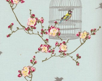 Bird cage pattern etsy for Au maison oilcloth