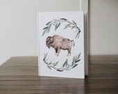 Bison Journal/ Diary - HARD COVER