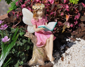 Fairy Abigail for Miniature Garden, Fairy Garden