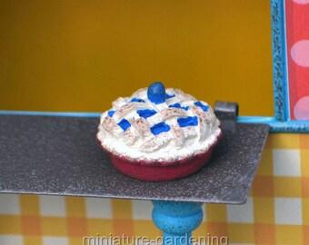 Mom's Pie, Style Options: Blueberry for Miniature Garden, Fairy Garden