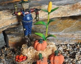 Fall Bountiful Harvest for Miniature Garden, Fairy Garden