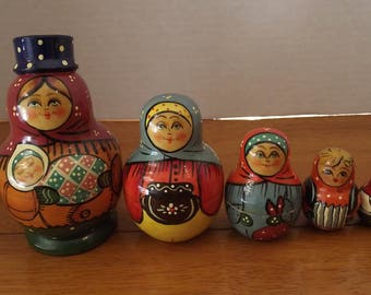 Russian Nesting People - Lady
