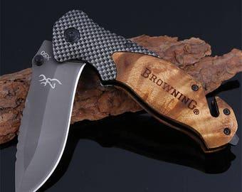Browning x50 folding tactical pocket hunting knife