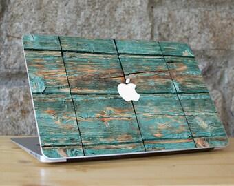 RUSTIC WOOD, Macbook Wood, Macbook Skin, Macbook Pro Skin Wood, Wood Case Macbook, Rustic Wood Skin, Nature Skin, for all Macbook Models