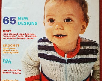 MON TRICOT Baby Knitting Vintage Magazine