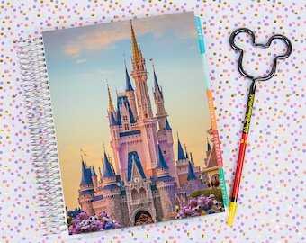Disney World Erin Condren Life Planner Cover INSTANT DOWNLOAD - Cinderella Castle 17