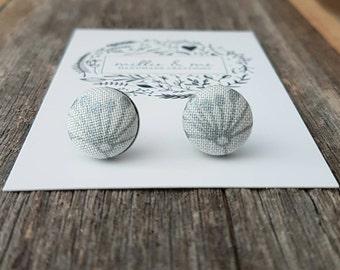 NEW Fabric earrings