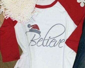 Believe Baseball tshirt