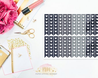 July 2017 Checklist Stickers   Planner Stickers designed for use with the Erin Condren Life Planner