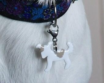 White puppy N2 on copper