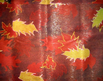 RED SILK BROCADE Fabric 5.5 Yards 40 wide