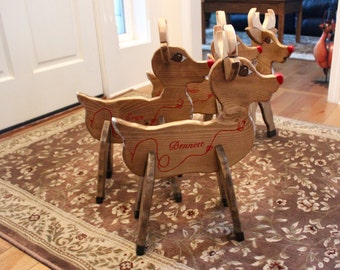 Child's Christmas Reindeer puzzle