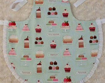 SALE! Girls apron size 6-8 years