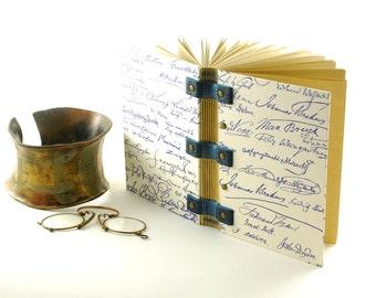 "Book ""writer, 15cmX10cm 144 p for men, Coptic binding, Christmas gift, notebook, travel book"