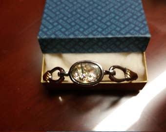 Avon 70's Bracelet Abalone Shell