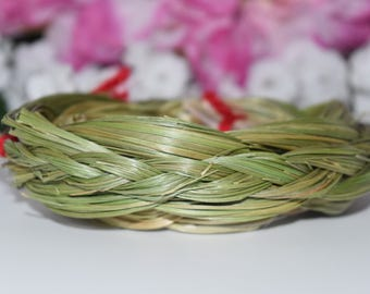 Large Sweetgrass Braid - Blessings, Clear Negative Energies, Smudge, Energy Healing