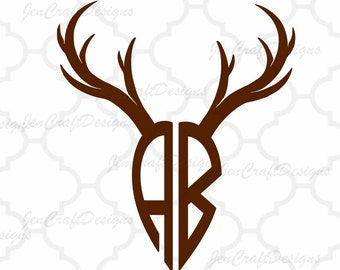 Deer Antler SVG, Antler Font Svg, Antler Alphabet, Digital Letters, SVG  Letters,Svg Dxf Eps Ai Cricut DS, Silhouette, Digital Cut Files