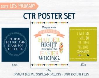 CTR Poster set