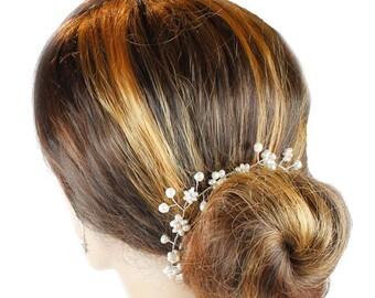Bridal Hair Vine, Wedding Hair Vine, Hair Jewellery, Bo Ho Hair Vine, Bridal Hair Vine, Woodlands  Hair Vine, Wedding Accessories