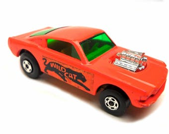 1970s Vintage Matchbox Superfast No: 8f Wildcat Dragster Toy Collectible Made in England