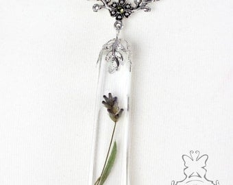 Large Lavender chain, flower creations