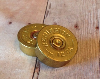 12 Gauge Brass Shotgun Shell Magnets, Bullet Accesories,  Handmade gifts, Unique gifts