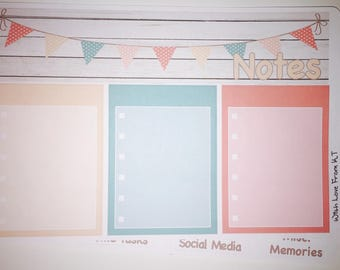 Country Banner Notes Page Kit