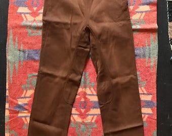 Women's 1940s Browdy Gabardine High Waisted Riding Pants
