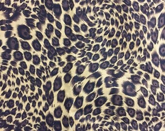 Giraffe Skin Fabric Length