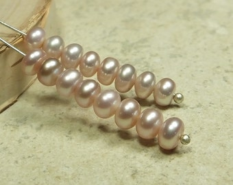 Pink Perfection Freshwater Button Pearls, 16