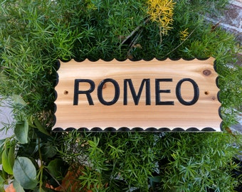 Carved Personalized Horse Stable Sign, Horse Stall Sign