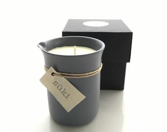 450mL Soy Beaker Candle, Hand Poured