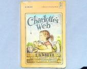 Charlotte's Web by E.B. White Vintage Paperback Book