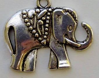 Large Elephant Charm
