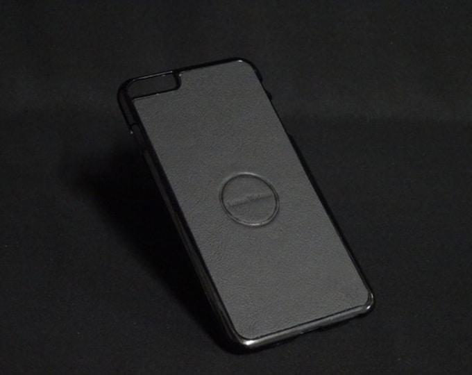 Jimmy Case - Fits Apple iPhone 6 Plus + - Black - Kangaroo leather - Handmade - James Watson