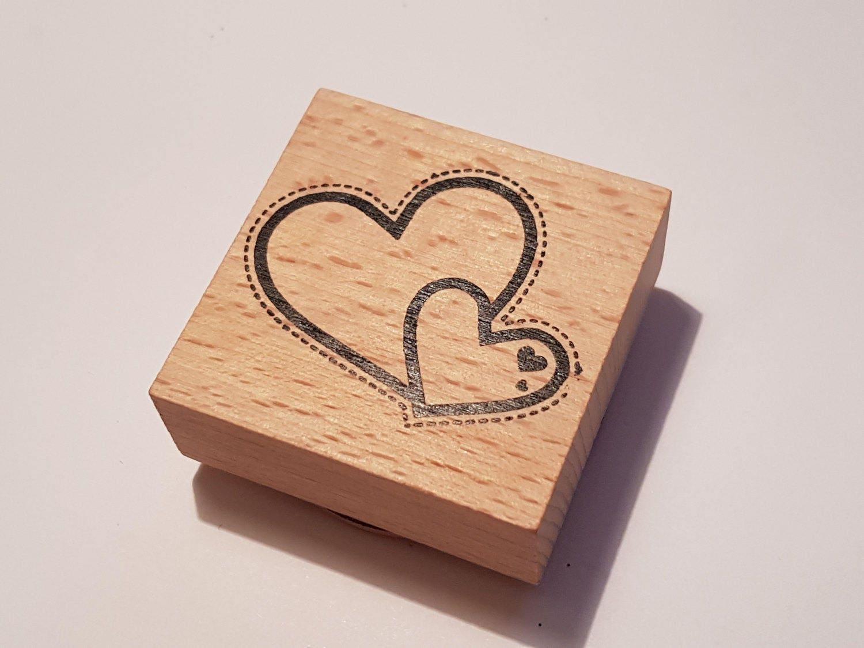 Rubber stamp craft supplies - Wooden Stamps Rubber Stamps Scrapbooking Stamp Heart Rubber Stamp Craft Supplies Destash Stamps