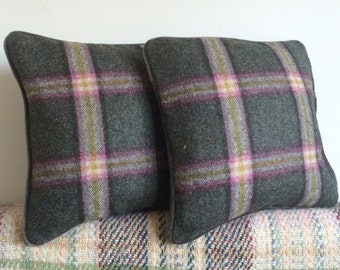 Gorgeous Piped Wool Cushions