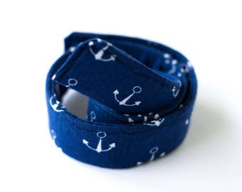 Anchors Kids Belts- Adjustable Velcro Belt