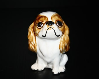 Cavalier King Charles Spaniel - Funny Pawls series- dogs ceramic figurine handmade statuette