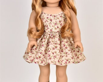 "18 inch doll dress ""Spaghetti Straps"" Doll clothes"