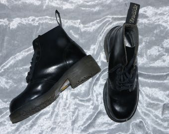 80's TREDAIR - 28.5 cm / Roughly UK 8.5 - Doc Martens Style Platform Boots - Made in England