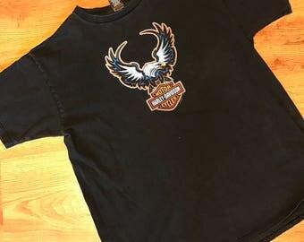 Vintage 1998 Harley Davidson T-shirt size XL