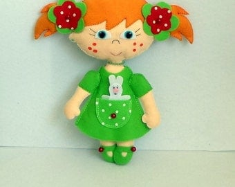 Doll, toy for girl, soft toy,Spring doll