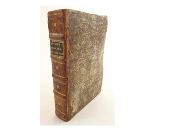 1565 Elements, Euclid. Italian, 2nd edition of Tartaglia's translation. Venice